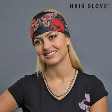 Hair Glove® EZ Bandz Skull Butterfly & Roses 50028 Reversible Stretch Head Band