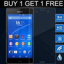 REAL TEMPERED GLASS FILM LCD SCREEN PROTECTOR For Sony Xperia Z3 D6603 D6643