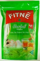 TRA FITNE GREEN TEA FLAVOUR HERBAL INFUSION DIET WEIGHT LOSS DETOX FREE INT POST