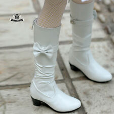 MSD Shoes 1/4 BJD Boots Dod Dollfie EID MID SOOM AOD Dream Snow white Boots 0128