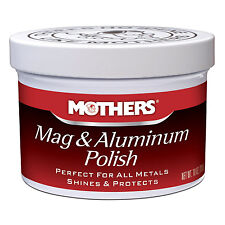 Mothers MAG & ALUMINUM POLISH Perfect for ALL Metals • SHINES & PROTECTS 10 oz