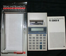 TEXAS INSTRUMENTS TI-5005 II Printer Display Calculator 10 Digit Ready-To-Run