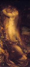 Eve Repentant George Frederic Watts Eva Paradies Reue Sankt Trauer B A3 01992