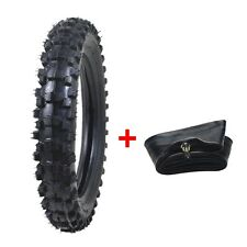 REAR / FRONT 70/100-12 12 inch Knobby Tire Tyre+Tube For PIT DIRT BIKE Off-road