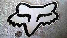"Large 9"" FOX Racing sticker mx surfing atv offroad Fox racing team sponsor decal"