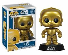 Funko POP! Star Wars: C3PO C-3P0 # 13 Vinyl Bobble-Head Brand New Mint