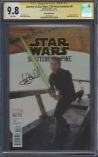 Journey to Star Wars: The Force Awakens #4 photo cover__CGC 9.8 SS__Mark Hamill