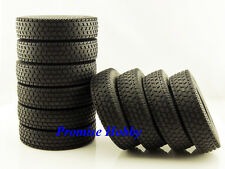 Rubber tire tyre set (10pcs) for 1/14 1:14 Tamiya tractor truck -T4