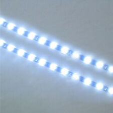 Waterproof Hot 2PC 12 LEDs 30cm 5050 SMD LED Strip Light Flexible 12V Car White