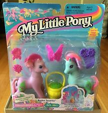 My Little Pony G2 1997 Basket Surprise New In Package.Sweet Berry And Ivy.Hasbro