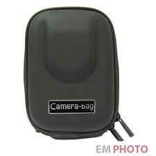 Hard Case Kameratasche Fototasche Etui Bag f. Digicam Digitalkamera Schwarz  74