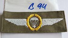 Bundeswehr Fallschirmspringer Abzeichen golden a oliv 2Stück (B94-)je2,40