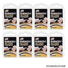 32 pcs Duracell Hearing Aid Batteries Size 312 NEW Super Fresh