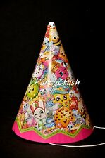 New Shopkins Birthday Hats Decoration Party Supplies 8