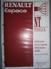 Schémas électriques ESPACE 2000 NT8163