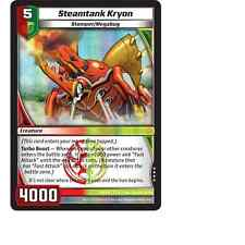 Kaijudo X1 STEAMTANK KRYON Very Rare #108/110 7CLA Clash of the Duel Masters