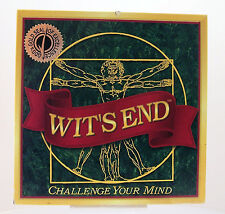 Wit's End Challenge your Mind Game 1999 Complete