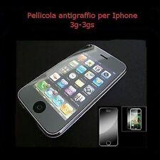 pellicola antigraffio display per iphone 3g e 3gs