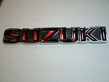 SUZUKI GT750 J AND K MODEL TANK BADGE, NEW REPRODUCTION.