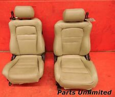 91-99 Mitsubishi 3000GT OEM front seats assembly STOCK factory x2 beige VR4