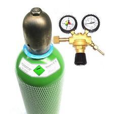 Mischgas 10 L Schutzgasflasche incl Gas Druckminderer Schweißgas mit Druckregler