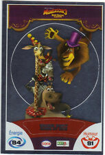 Vignette de collection autocollante CORA Madagascar 3 n° 90/90 - Melman Marty ..