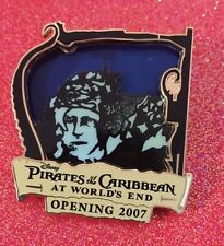 DISNEY PIN PIRATES OF THE CARIBBEAN AT WORLDS END OPENING DAY LE 1500 BOOT STRAP