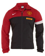 Nike Manchester United Warm Up Jacket Mens 477788-066 Red Soccer Jacket Size 2XL