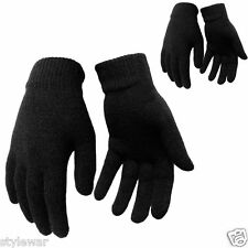 NEW Magic GLOVES MENS BLACK THERMAL MAGIC  WINTER GLOVES Fast dispatch 1 pair