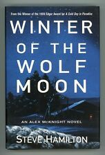 Winter of the Wolf Moon by Steve Hamilton 1st