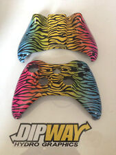 Hydro Dipped Xbox 360 Controller Shell - Rare Spectrum Camo, Call of duty Ghosts