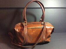 Vintage Brahmin Top Handle Satchel With Detachable Shoulder Strap, Reduced Price