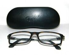 ** RAY- BAN TORTOISE EYE GLASSES AND CASE PRESCRIPTION LENSE **