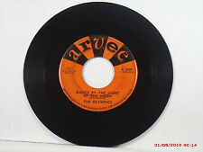 THE OLYMPICS-c-(45)-DANCE BY THE LIGHT OF THE MOON / DODGE CITY -ARVEE-5020-1961