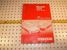 Mazda 1987 323 station Wagon workshop Repair 1  Manual, 9999-950218-87, MAZDA