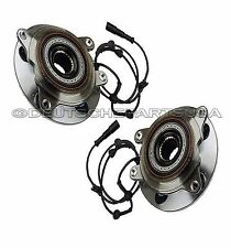 LAND ROVER DISCOVERY FRONT WHEEL HUBS BEARINGS ASSEMBLY + SENSOR TAY100060 SET 2