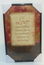 Love  Inspirational Wall Picture, Wall Plaque (NEW)