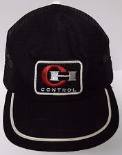 Vintage 1980s CH CONTROL LOGO ADVERTISING ADJUSTABLE PATCH HAT CAP MADE IN USA