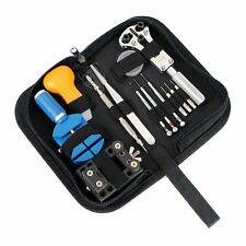 13pcs Watch Horologe Watchmaker Repair Case Opener Remover Adjuster Tool Set Kit