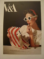 HORST : PHOTOGRAPHER OF STYLE at the  V + A  2014 Exhibition Flyer