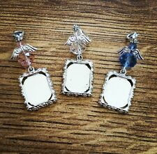 Guardian Angel Memory Button Hole/Bouquet Photo Charm - Free Photo Printing