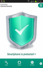 Kaspersky Internet Security for Android, Mobile or Tablet, Newest 2016 Version