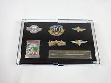 100TH Running Indianapolis 500 Commemorate Historical Moments 6 Lapel Pin Set