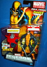 The Return of MARVEL LEGENDS BAF TERRAX series CONSTRICTOR NIB