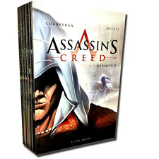 Assassins Creed 6 Books Set Collection Eric Corbeyran (Hardback) Desmond,Hawk ..