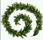 9ft LED Garland Christmas Express delivery