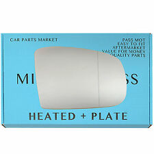 For MERCEDES ML W163 02-05 Wide Angle Heated +BP Right Side Wing Mirror Glass
