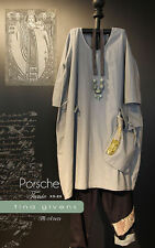 Porsche Tunic TG-A7075 Sewing Pattern  by Tina Givens Lagenlook Style! Sz. XS-2X