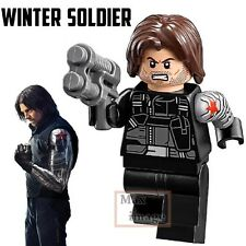 1pc Winter Soldier Minifigures Building Blocks Marvel Avengers Custom Lego #261