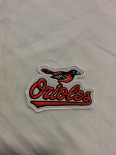 Baltimore Orioles Logo MLB Baseball Hat Shirt Embroidered Iron On Jersey Patch B